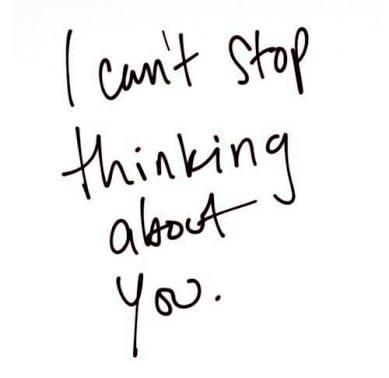Non ho smesso di pensarti